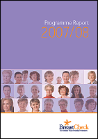 Cover image of the BreastCheck Programme Report 2007/08