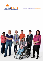 Cover image of the BreastCheck Programme Report 2008/09