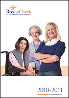 Cover image of the BreastCheck Programme Report 2010/11