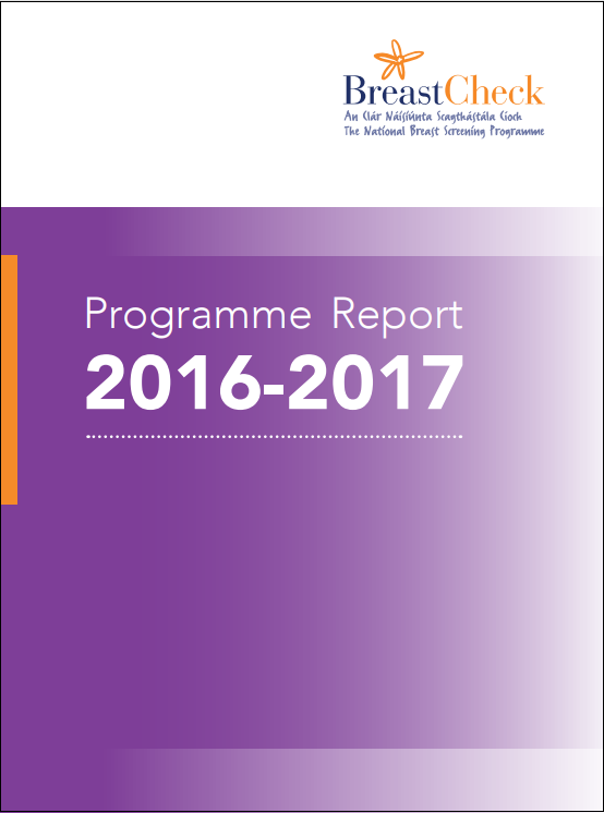 Cover image of the BreastCheck Programme Report 2011/12