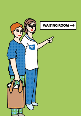 Return to the waiting room
